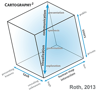 Cartography cubed image